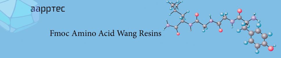 fmoc amino acid wang resins